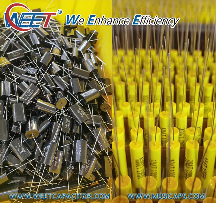 WEET-Audiophiler-MKP-Kondensotor-Tubular-Audio-400V-MKP-Metalized-Polypropylene-Foil-PP-Crossover-Capacitor